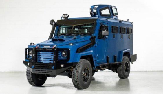 Toyota Land Cruiser – броньовик для спецпідрозділів (Фото)