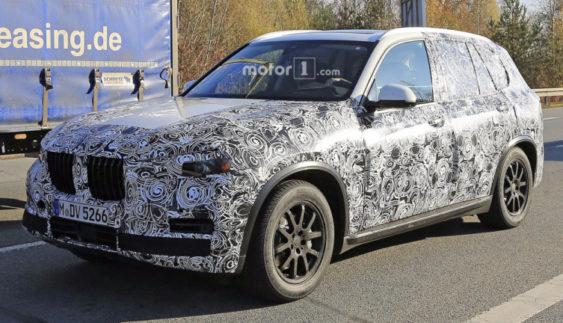 Новий BMW X5 помічений під час тестів