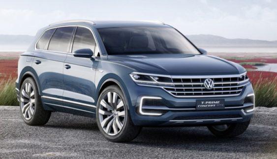 Volkswagen в 2017 році покаже 10 нових моделей