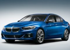 У Мережі з'явилося перше фото седана BMW першої серії