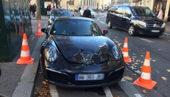 Поліція жорстоко відреагувала на неправильно припаркований Porsche (Фото)