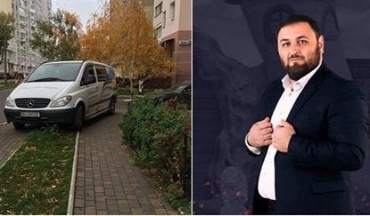 """""""Герой парковки"""" залякує свідомих киян (Фото)"""