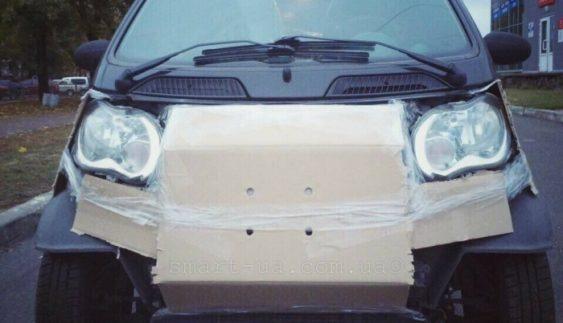 Киянин оригінально підготував авто до холодів (Фото)