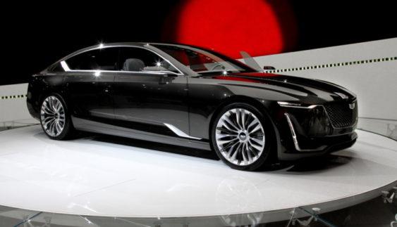 Офіційно презентували величезний Cadillac Escala (Фото)