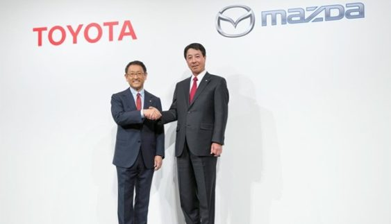 Toyota і Mazda спільно створять електрокар