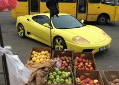 В Україні помітили дуже рідкісну Ferrari (Фото)