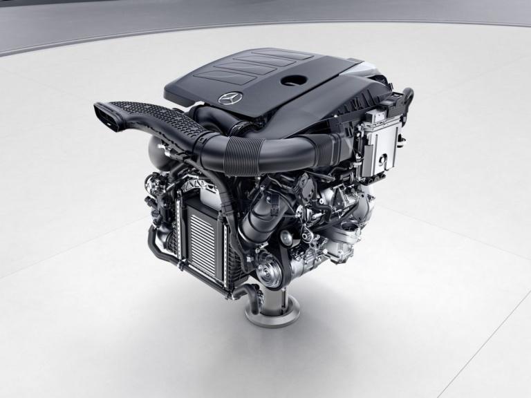 Mercedes-Benz Vierzylinder-Benzinmotor, M264 ;Mercedes-Benz four-Cylinder engine, M264;