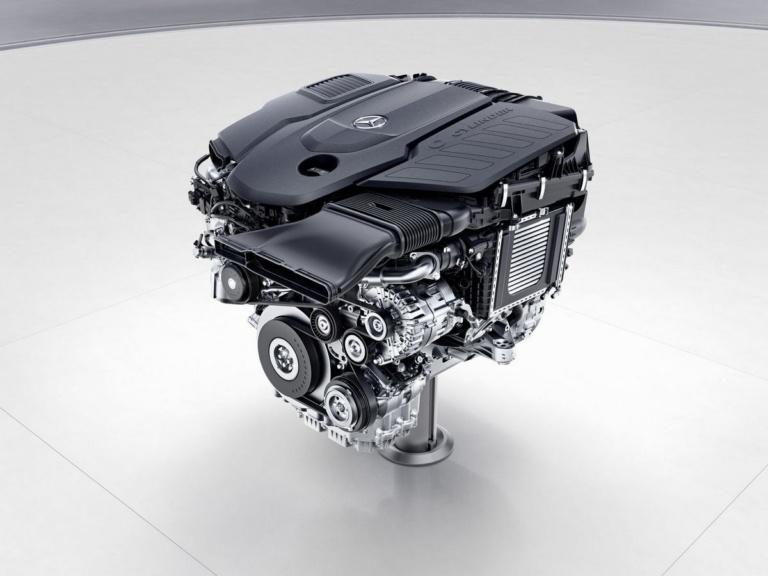 Mercedes-Benz Sechszylinder-Dieselmotor, OM656 ;Mercedes-Benz six-cylinder diesel engine, OM656;