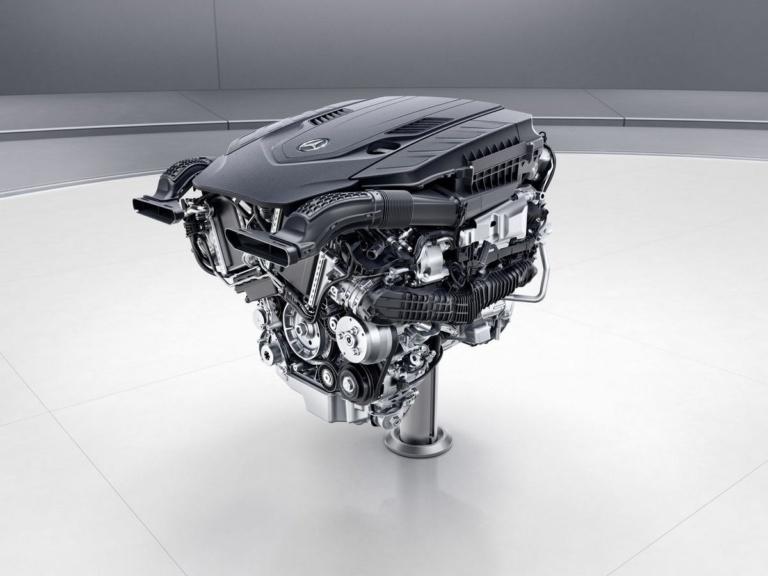 Mercedes-Benz V8-Biturbo-Benzinmotor, M176 ;Mercedes-Benz V8-biturbo engine, M176;