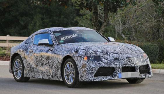 Нова Toyota Supra «попалася» на тестах (Фото)
