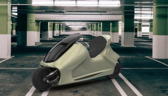 Винайдено мотоцикл, який ніколи не перекидається (Відео)
