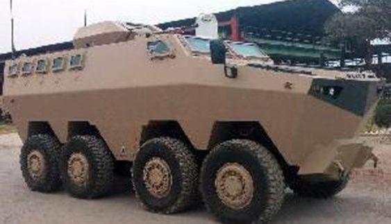 Представлено нову броньовану машину Hamza MCV (Фото)