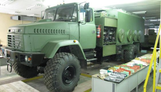 «КрАЗ» створив нову командно-штабну машину (Фото)