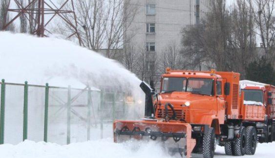 КрАЗ показав нову снігоприбиральну техніку (Фото)