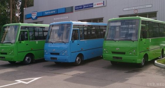 Фотофакт: ЗАЗ почав випускати автобуси