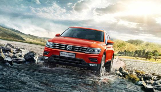 Подовжений Volkswagen Tiguan: перші офіційні фото