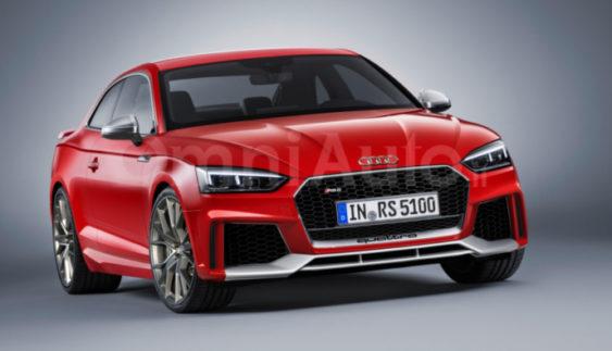 Опубліковано нове зображення Audi RS5 купе 2018