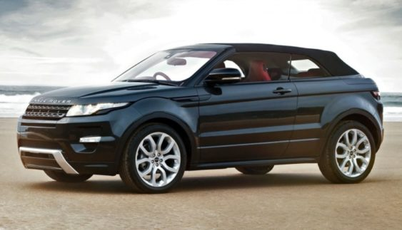 Range Rover Evoque кабріолет з'явився в Україні (Фото)