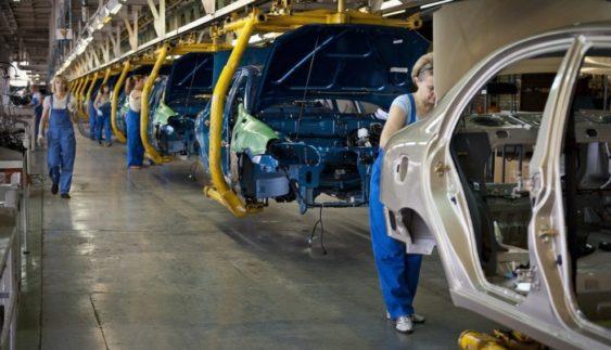 В Україні різко скоротилося виробництво автомобілів