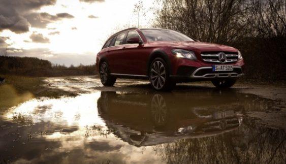 Mercedes протестував свій новий універсал на бездоріжжі (Фото)