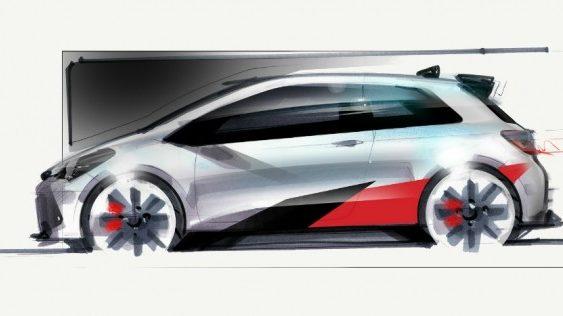 Toyota оприлюднила перше зображення зарядженого Yaris