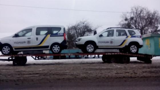 """Поліцейські отримають нові автомобілі """"Renault"""" (Фото)"""