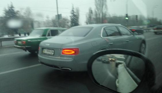 В Україні засвітився новий седан Bentley за $ 300 тисяч (Фото)
