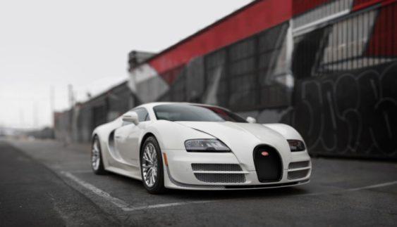 Останнє купе Bugatti Veyron продадуть на аукціоні (Фото)