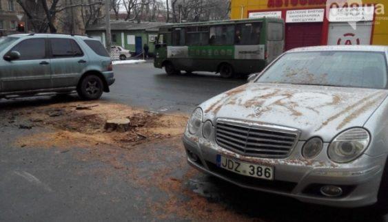"""Як в Україні покарали """"автохама"""" з Латвії (Фото)"""