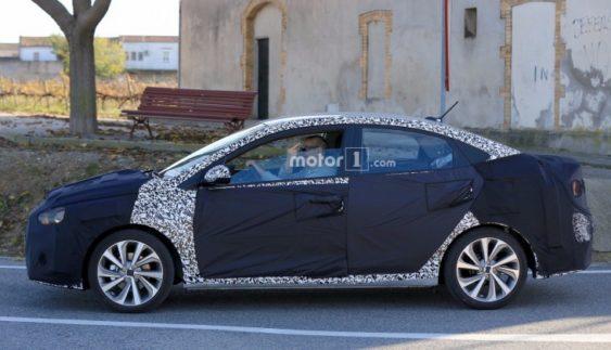 З'явилися перші фото нового Hyundai Accent