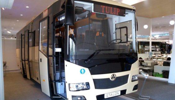 У Києві цими днями покажуть новий український автобус (Фото)