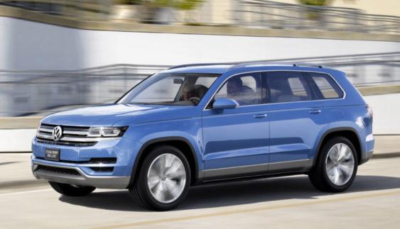Стартувало виробництво найбільшого позашляховика Volkswagen