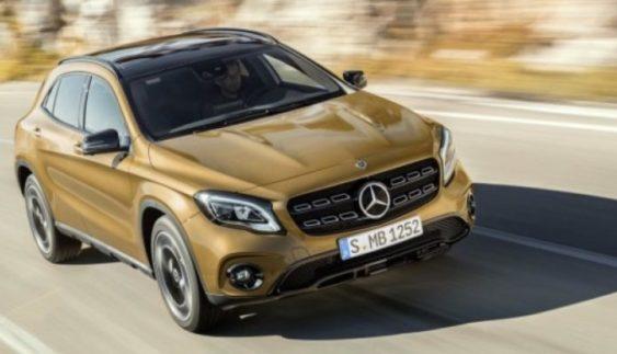 Mercedes-Benz назвав ціни на рестайлінговий кросовер GLA