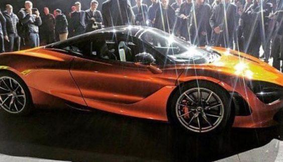 В Інтернеті з'явилося перше фото нового суперкара McLaren