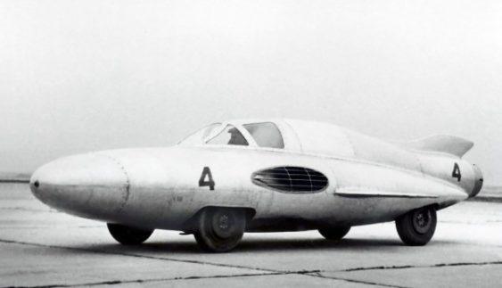 ГАЗ-Сг3 – унікальний радянський турбореактивний автомобіль (Фото)