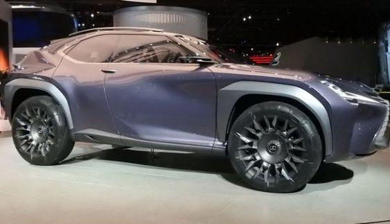 Представили новий компактний кросовер Lexus UX (Фото)