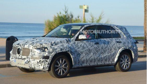 Новий Mercedes-Benz GLE: опублікували фото кросовера