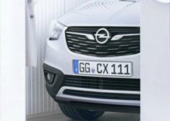 Opel дражнить новим кросовером перед прем'єрою (Фото)
