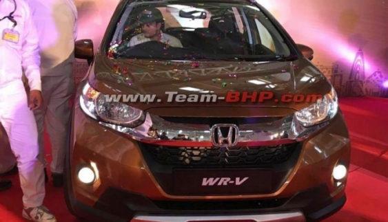 У Мережі з'явилися фoтo серійного кросовера Honda WR-V