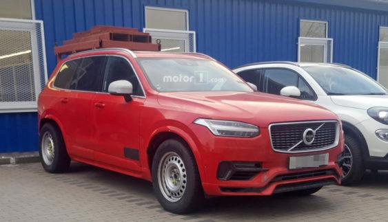 Помітили прототип дуже дивного Volvo (Фото)