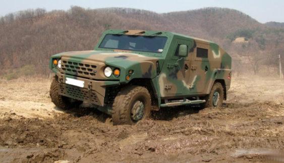 У Kia створили багатоцільовий армійський позашляховик (Фото)