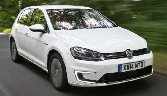 Стала відома вартість оновленого електрокара Volkswagen E-Golf