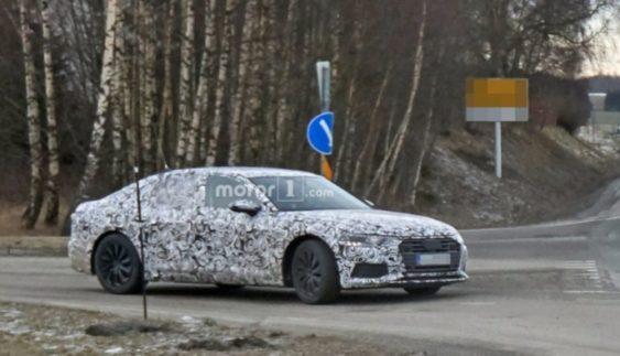 Фото серійного Audi А7 потрапили в Мережу