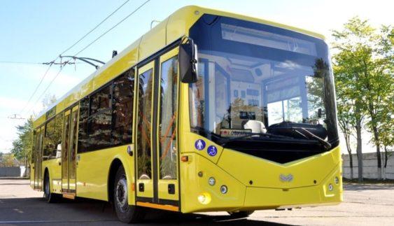 Новітні тролейбуси «Белкоммунмаш» прибули до України (Фото)