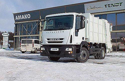 В Україні розробили новий сміттєвоз (Фото)