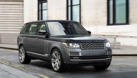 Range Rover 2018 модельного року сфотографували під час тестування