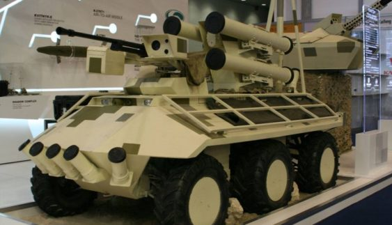 Український бронеавтомобіль визнаний однією з кращих новинок 2017 роки (Відео)