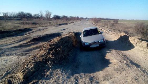 «Дорога в пекло» або як виглядає найгірша траса в Україні (Відео)