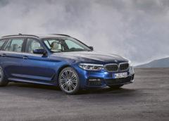 BMW розсекретила універсал 5-Series Touring нового покоління