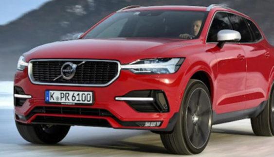 В Інтернеті з'явився знімок салону нового Volvo XC60